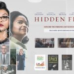 hidden figures app main menu